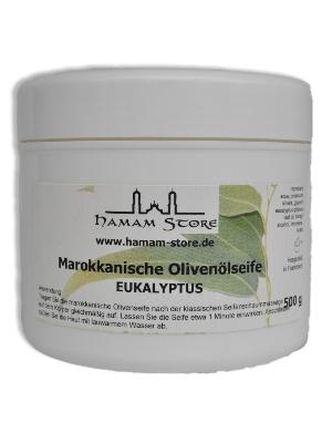 Schwarze Olivenölseife