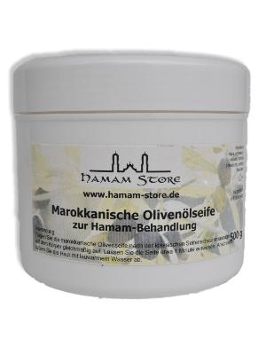 Marokkanische Olivenölseife