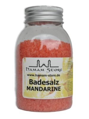 Badesalz Mandarine