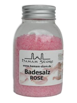 Badesalz Rose